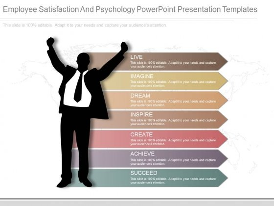 Employee Satisfaction And Psychology Powerpoint Presentation Templates