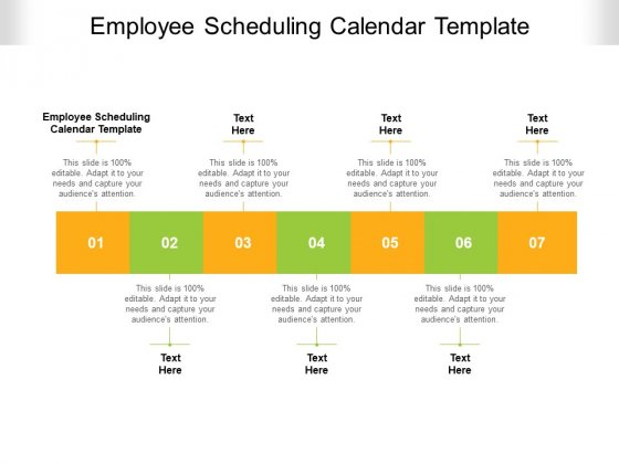 Employee Scheduling Calendar Template Ppt PowerPoint Presentation Infographics Deck Cpb Pdf