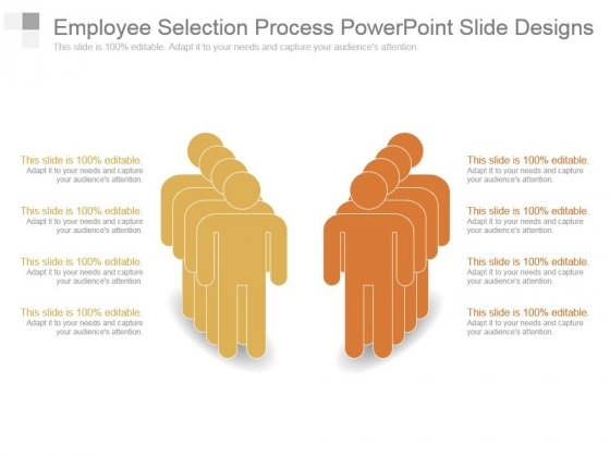 Employee Selection Process Powerpoint Slide Designs