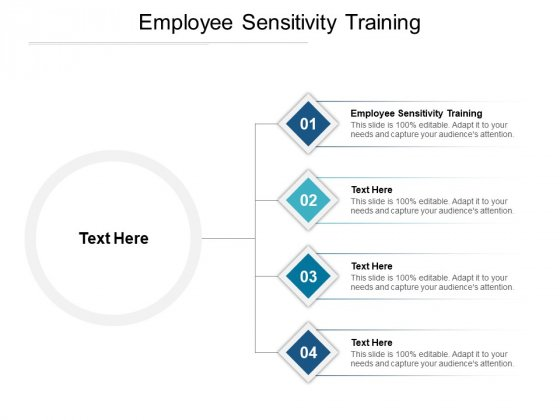 Employee Sensitivity Training Ppt PowerPoint Presentation Outline Graphics Tutorials Cpb Pdf