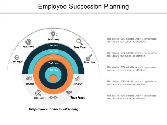 Employee Succession Planning Ppt PowerPoint Presentation Icon Clipart Cpb