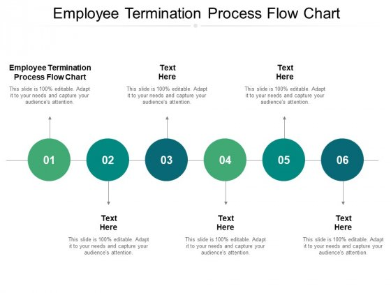 Employee Termination Process Flow Chart Ppt PowerPoint Presentation Graphics Cpb