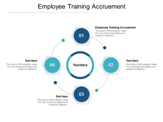 Employee Training Accruement Ppt PowerPoint Presentation Ideas Introduction Cpb Pdf