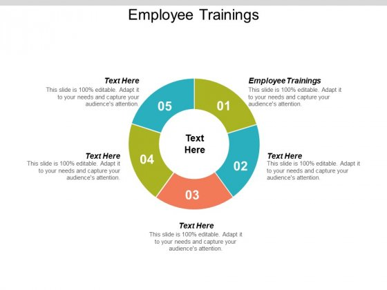 Employee Trainings Ppt PowerPoint Presentation File Format Cpb