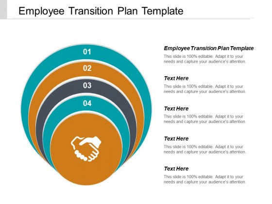 Employee Transition Plan Template Ppt PowerPoint Presentation File Maker Cpb