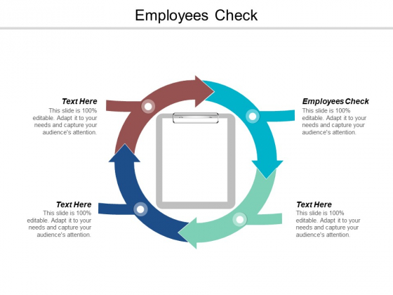 Employees Check Ppt PowerPoint Presentation Ideas Visuals Cpb