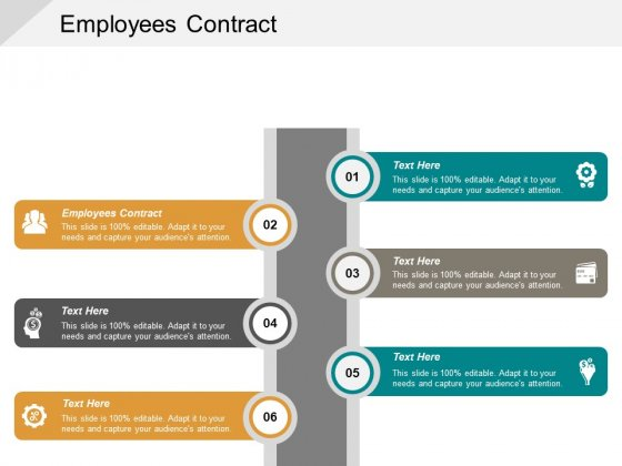 Employees Contract Ppt PowerPoint Presentation File Templates