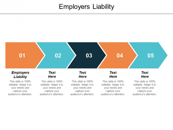 Employers Liability Ppt PowerPoint Presentation Gallery Format Cpb