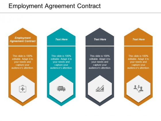 Employment Agreement Contract Ppt PowerPoint Presentation Slides Objects Cpb