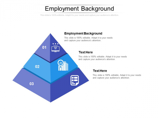 Employment Background Ppt PowerPoint Presentation Infographic Template Slide Download Cpb