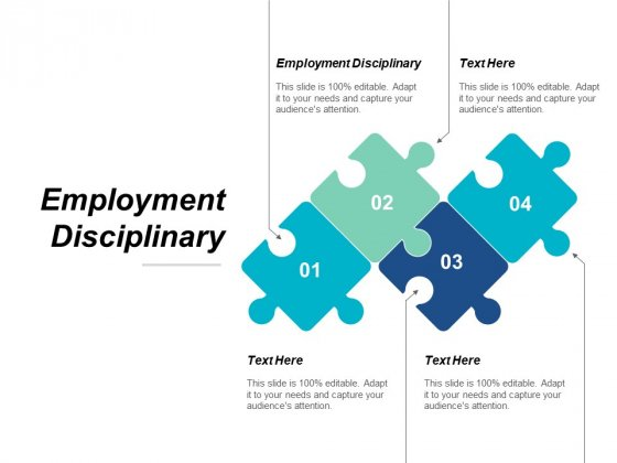 Employment Disciplinary Ppt PowerPoint Presentation File Layouts Cpb
