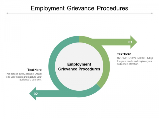 Employment Grievance Procedures Ppt PowerPoint Presentation Outline Graphic Tips Cpb