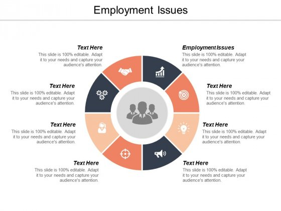 Employment Issues Ppt PowerPoint Presentation File Deck Cpb