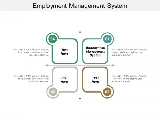 Employment Management System Ppt PowerPoint Presentation Inspiration Graphics Example Cpb