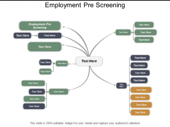 Employment Pre Screening Ppt PowerPoint Presentation Layouts Slide Download Cpb