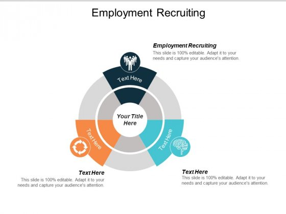 Employment Recruiting Ppt PowerPoint Presentation Slides Rules Cpb