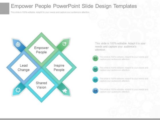 Empower People Powerpoint Slide Design Templates