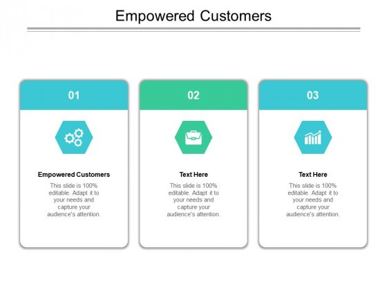 Empowered Customers Ppt PowerPoint Presentation Model Layouts Cpb Pdf
