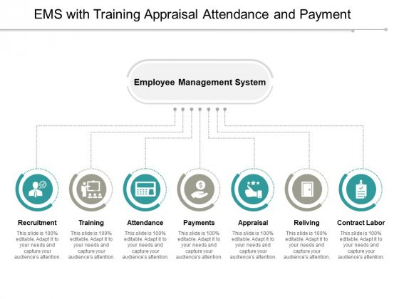 Ems With Training Appraisal Attendance And Payment Ppt PowerPoint Presentation Icon Themes