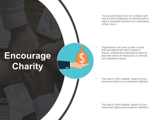 Encourage Charity Ppt Powerpoint Presentation Summary Infographic Template