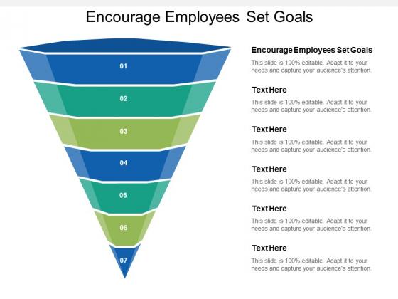 Encourage Employees Set Goals Ppt PowerPoint Presentation Portfolio Examples Cpb