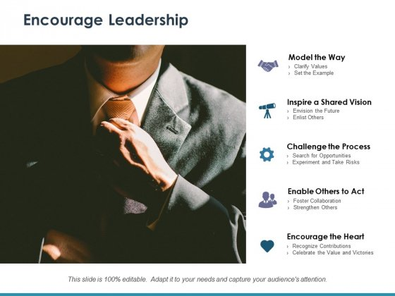 Encourage Leadership Ppt PowerPoint Presentation Infographics Infographic Template