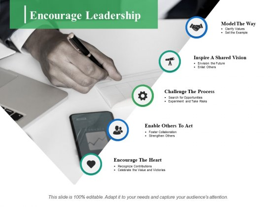 Encourage Leadership Ppt PowerPoint Presentation Layouts Shapes
