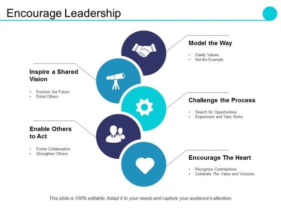 Encourage Leadership Ppt PowerPoint Presentation Summary Designs