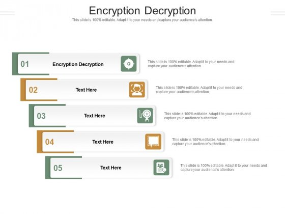 Encryption Decryption Ppt PowerPoint Presentation Outline Topics Cpb Pdf