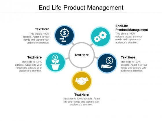 End Life Product Management Ppt PowerPoint Presentation Show Diagrams Cpb Pdf