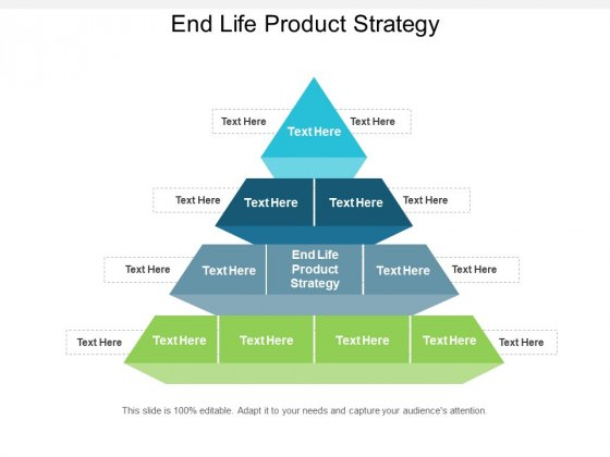 End Life Product Strategy Ppt PowerPoint Presentation Layouts Graphics Design Cpb