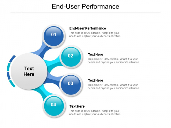 End User Performance Ppt PowerPoint Presentation Styles Graphics Design Cpb