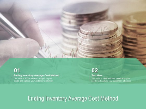 Ending Inventory Average Cost Method Ppt PowerPoint Presentation Professional Elements Cpb Pdf