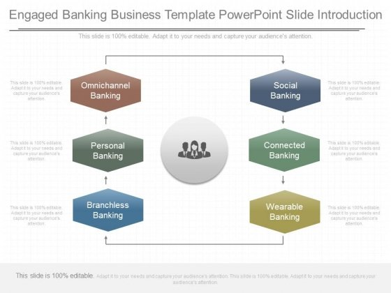 Engaged Banking Business Template Powerpoint Slide Introduction