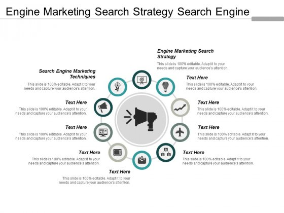 Engine Marketing Search Strategy Search Engine Marketing Techniques Ppt PowerPoint Presentation Pictures Graphics