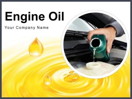 Engine_Oil_Oil_Spray_Red_Oil_Ppt_PowerPoint_Presentation_Complete_Deck_Slide_1
