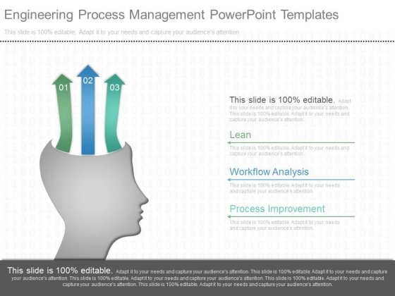 Engineering Process Management Powerpoint Templates