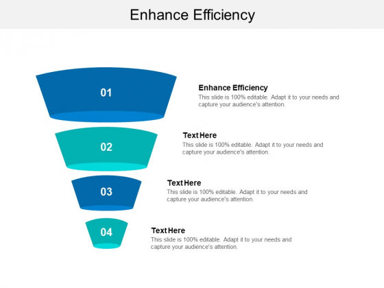 Enhance Efficiency Ppt PowerPoint Presentation File Graphics Example Cpb