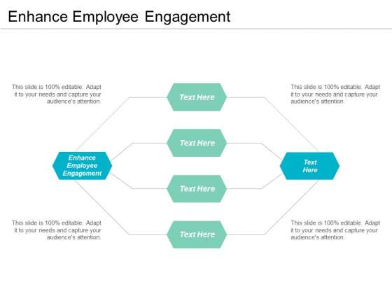 Enhance Employee Engagement Ppt PowerPoint Presentation Ideas File Formats Cpb