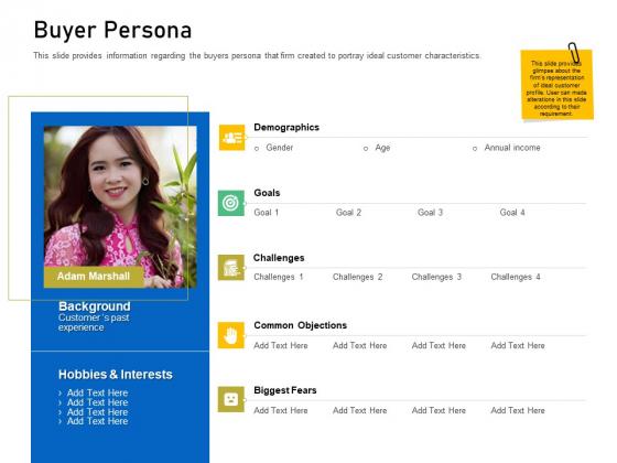 Enhancing Customer Engagement Digital Platform Buyer Persona Pictures PDF