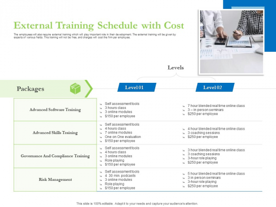 Enhancing Financial Institution Operations External Training Schedule With Cost Download PDF