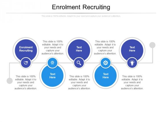 Enrolment Recruiting Ppt PowerPoint Presentation Outline Graphics Tutorials Cpb Pdf