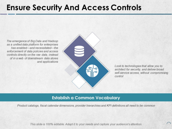 Ensure Security And Access Controls Ppt PowerPoint Presentation Portfolio Images