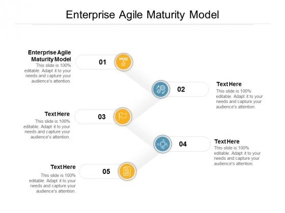 Enterprise Agile Maturity Model Ppt PowerPoint Presentation Slides Ideas Cpb