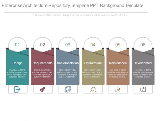 Enterprise Architecture Repository Template Ppt Background Template