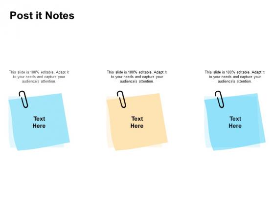 Enterprise Capability Management Post It Notes Ppt Show Slide Portrait PDF