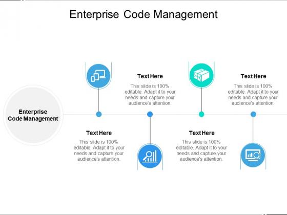 Enterprise Code Management Ppt PowerPoint Presentation Layouts Topics Cpb