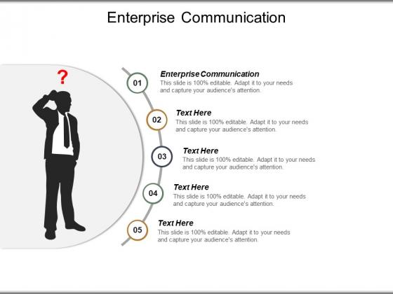 Enterprise Communication Ppt Powerpoint Presentation Slides Skills Cpb