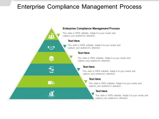 Enterprise Compliance Management Process Ppt PowerPoint Presentation Infographics Themes Cpb