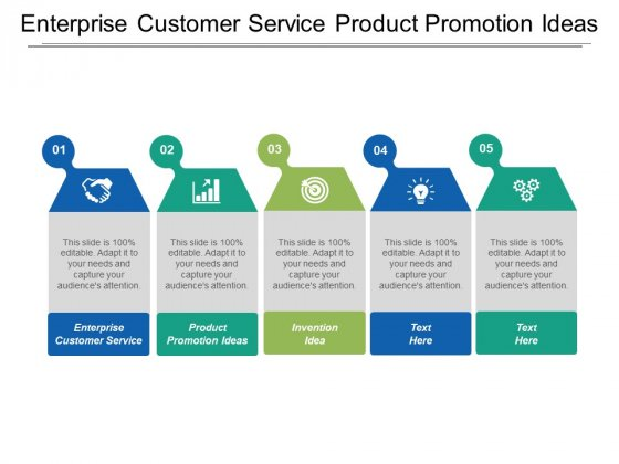 Enterprise Customer Service Product Promotion Ideas Invention Idea Ppt PowerPoint Presentation Infographic Template Graphic Tips